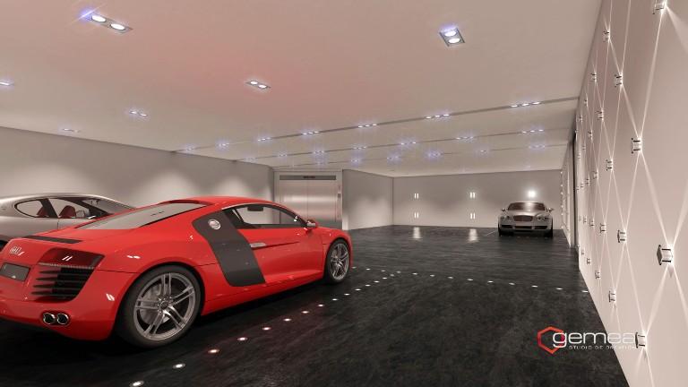 GARAGE EN 3D LUXE