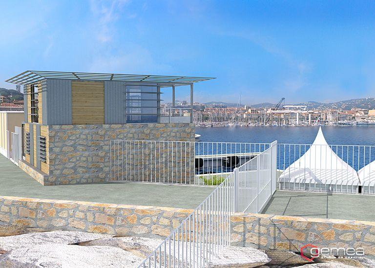 Am nagement de port 3d architecture 3d d tail - Port de cannes capitainerie ...