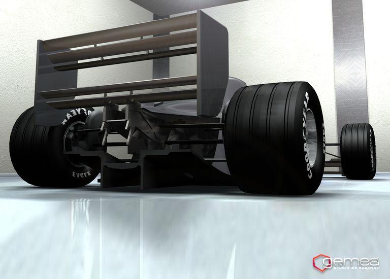 Modelisation Formule 1 En 3d Mod Lisation 3d