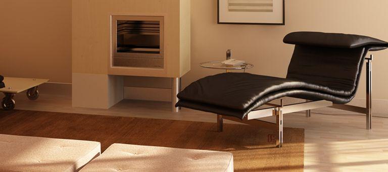 perspective salon cheminee 3d d coration d tail. Black Bedroom Furniture Sets. Home Design Ideas